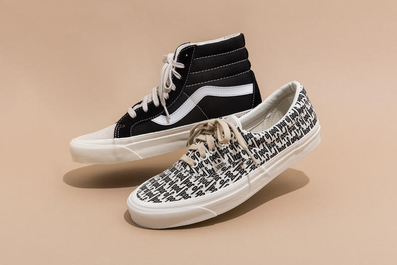 a2eb53ff2c Fear of God Takes on the Vans Sk8-Hi   Era