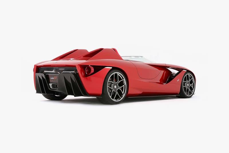 Ken Okuyama kobe57 Rosso Corsa Racing Red Car
