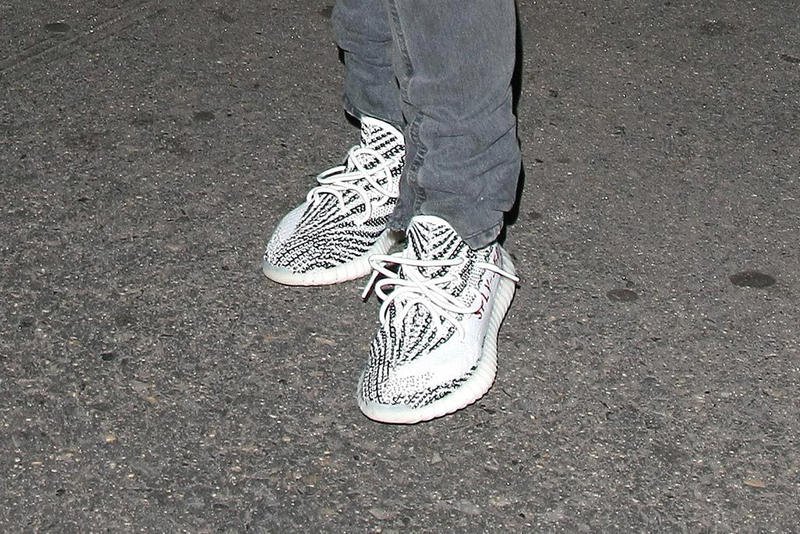 the best attitude 84466 26fbe Kanye West Flaunts Unreleased Yeezy Boosts Following the 2016 MTV VMAs