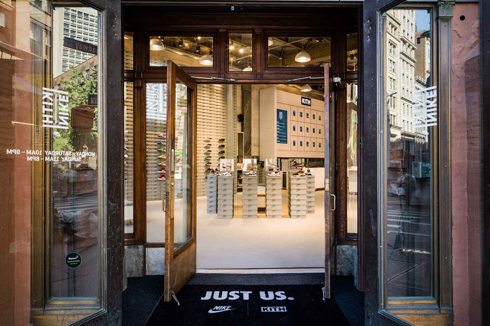 3831a0fe Look Inside KITH and Nike's Pop-Up Store in New York | HYPEBEAST