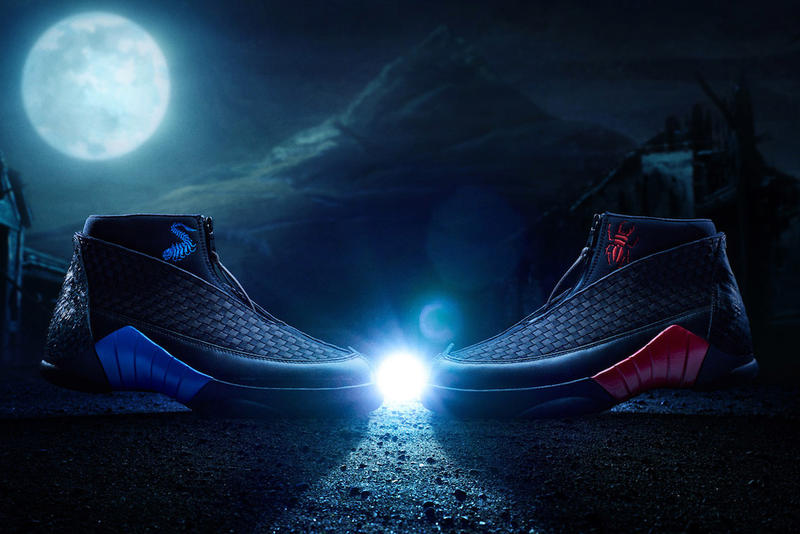 8b1feee45c6 Jordan Brand's Special Kubo x Air Jordan 15 Is Inspired by the Film's Theme  of Good vs. Evil