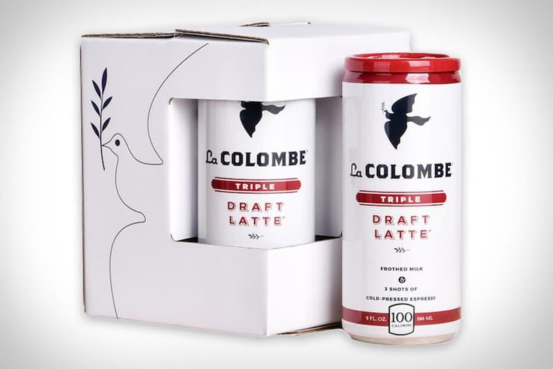 canned coffee, la colombe, triple draft latte