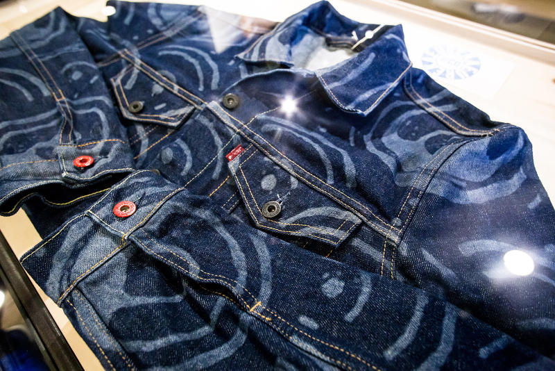 levi's michael gillette 505C trucker jacket capsule collection