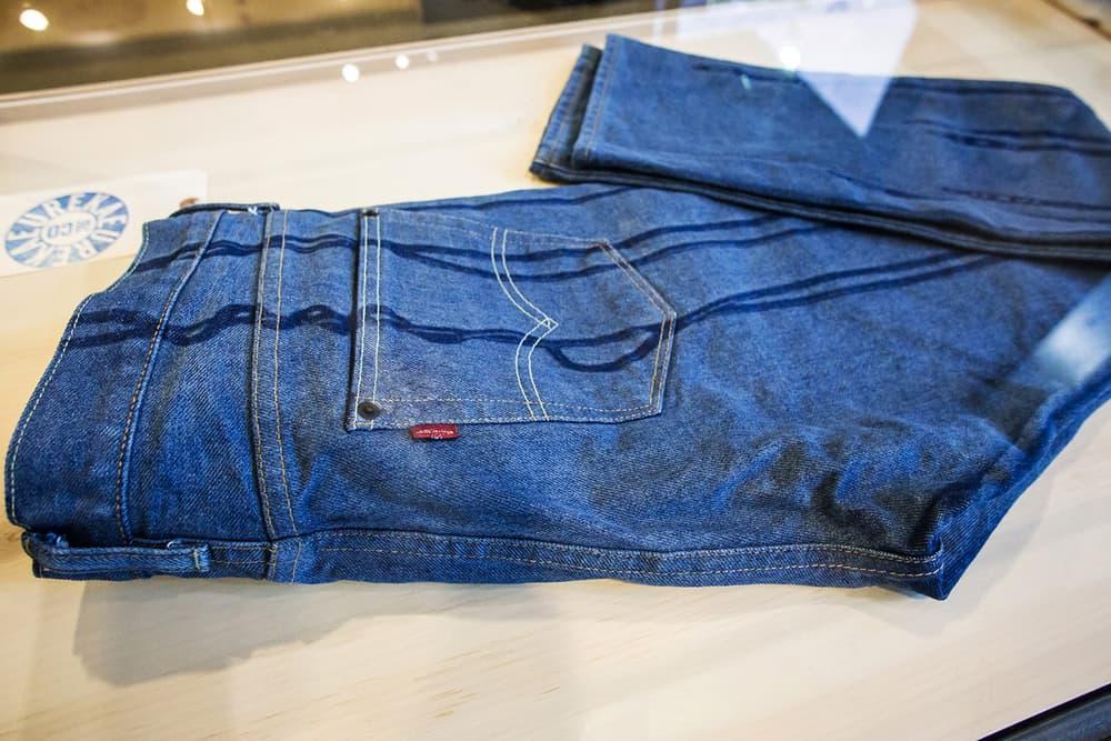 levi's michael gillette 505C trucker jacket capsule collection