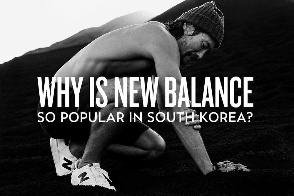 New Balance South Korea Popularity