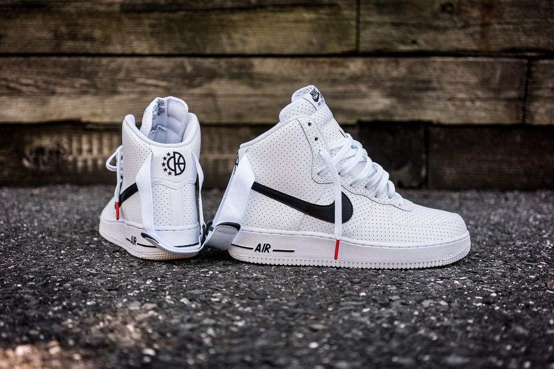 Nike Air Force 1 High Perf In White Black Hypebeast