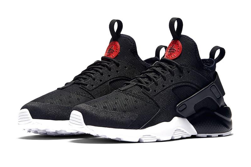 Nike Air Huarache Ultra black red white