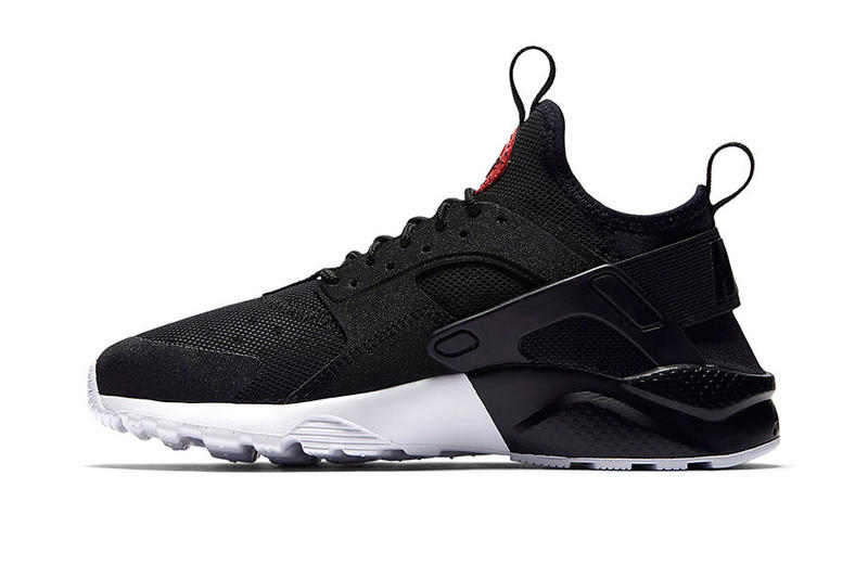 Nike Air Huarache Ultra black red white