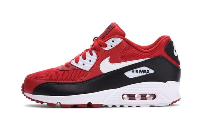 air max red black