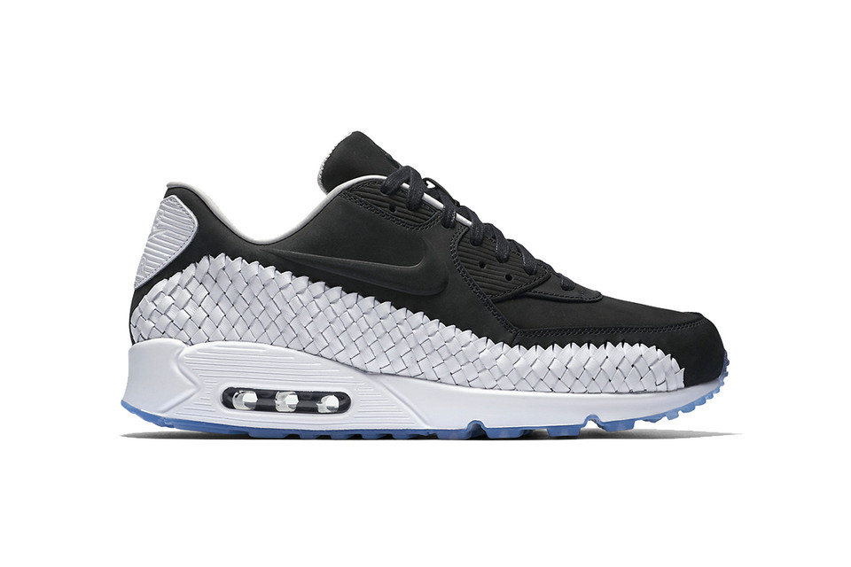 best cheap 04857 f4094 The Nike Air Max 90 Woven Returns in Black  White