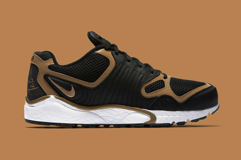 big sale 279e0 a6082 Nike Air Zoom Talaria Receives a Black & Gold Update. The Talaria gets gold  inflections as the Olympics rage on.