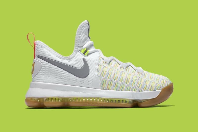 release date: b9699 5b362 Nike KD 9 Multicolor White | HYPEBEAST