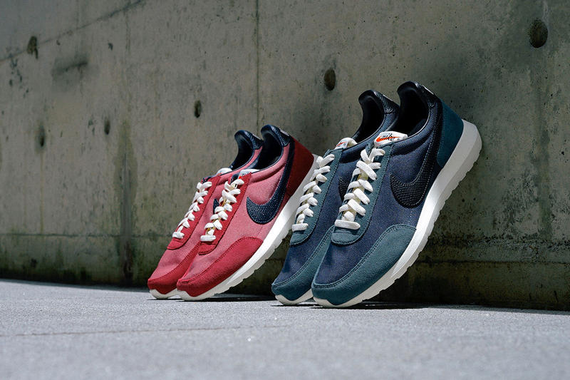 21a18281 The Nike Roshe Daybreak NM Returns in Two Retro Colorways. The  retro-inspired hybrid runner in two classic colorways.