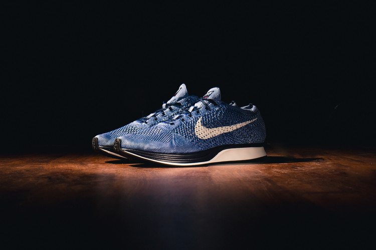 80267d64084a A Closer Look at the Indigo-Dyed Nike Flyknit Racer