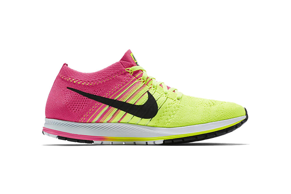 online store 590a9 ebdfe Nike Brings Flyknit to Its Zoom Streak for Rio