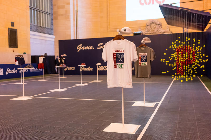 Packer Shoes ASICS Mitchell Ness NYC Pop Up