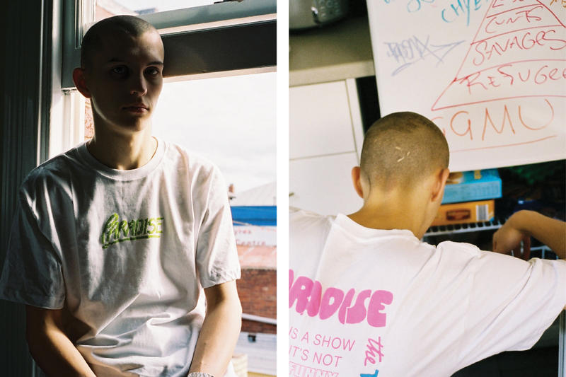 paradise youth club, parasite, graphics, lookbook
