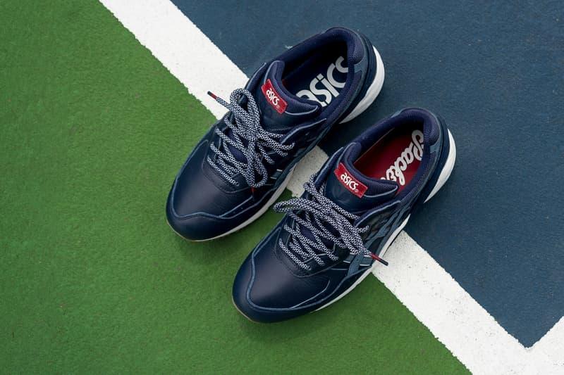 485ef5c8b0d6 Parker Shoes x ASICS Game Set Match Tennis Sneaker Collection ...