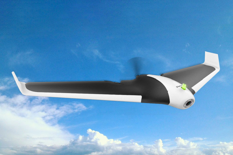 Parrot's Fixed-Wing Drone Was Built for Speed