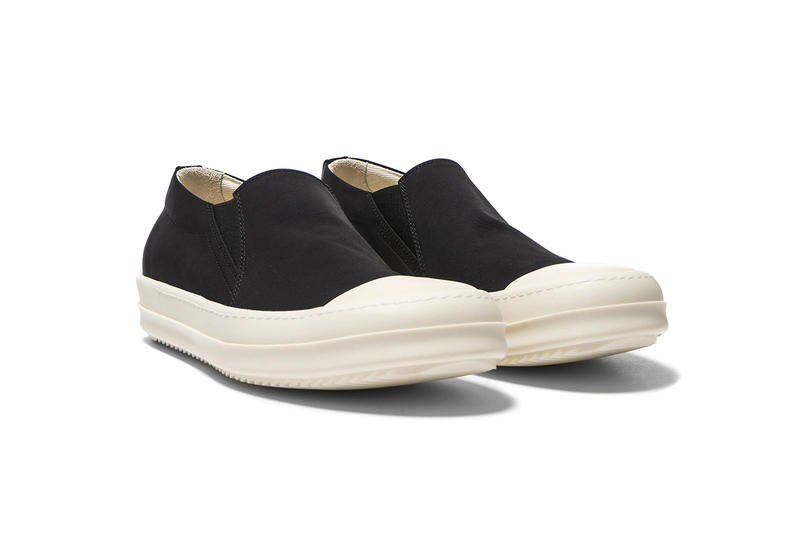 black and white rick owens shoes
