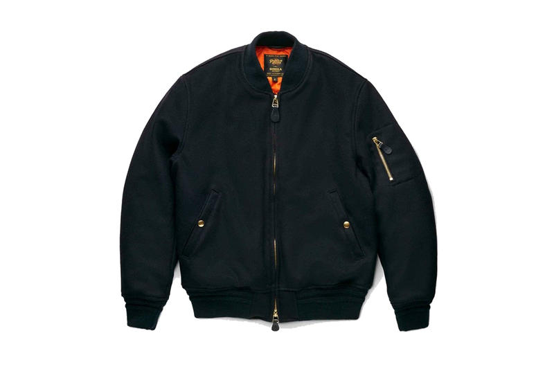 shinola x golden bear ma 1 bomber jacket