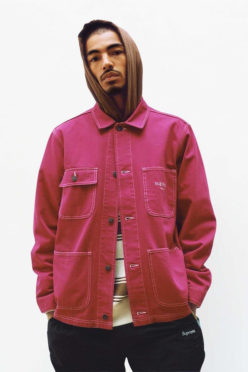 Supreme Pink Utility Jacket