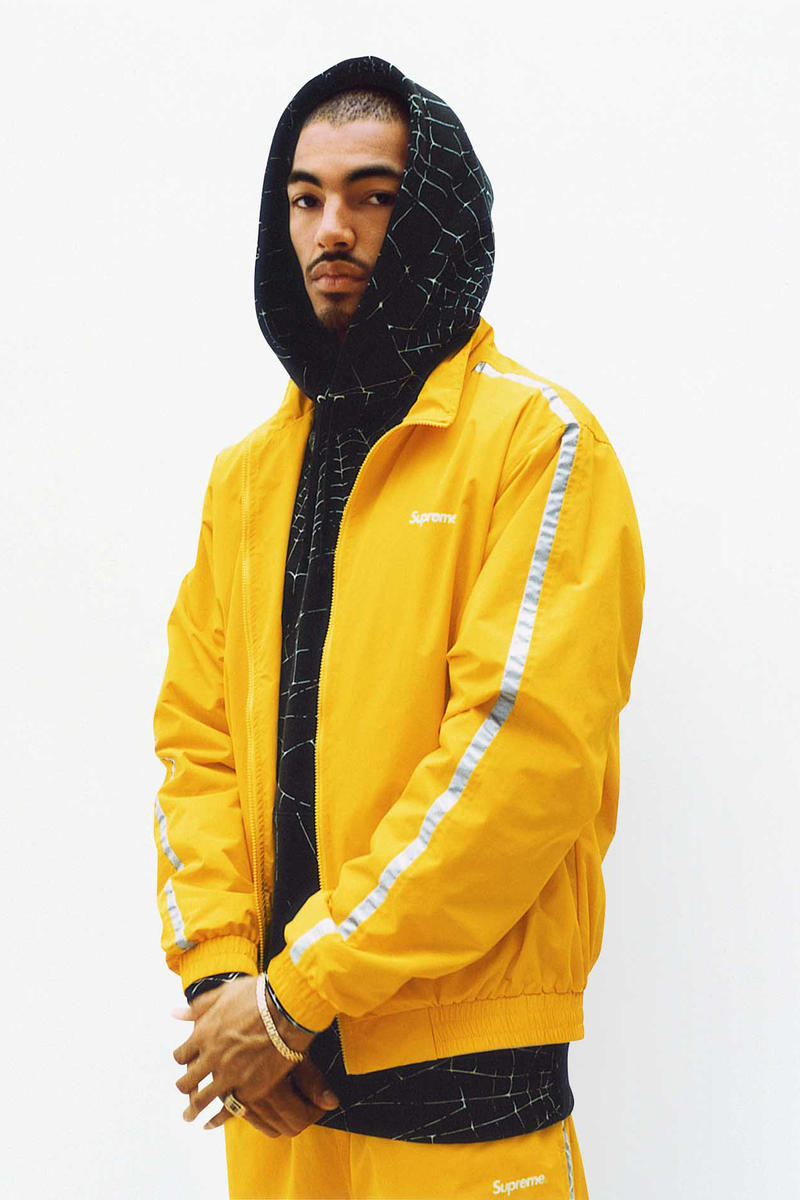 Supreme Yellow Track Jacket