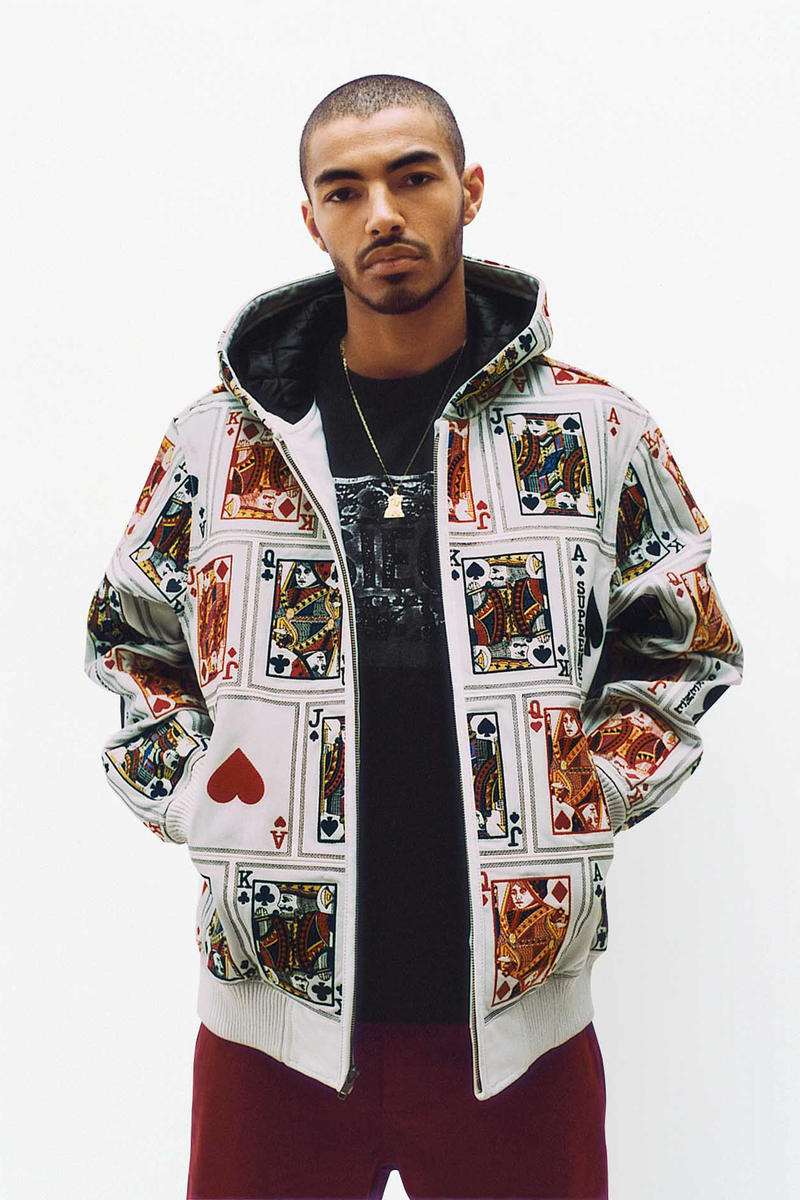 Supreme Card Deck Parka