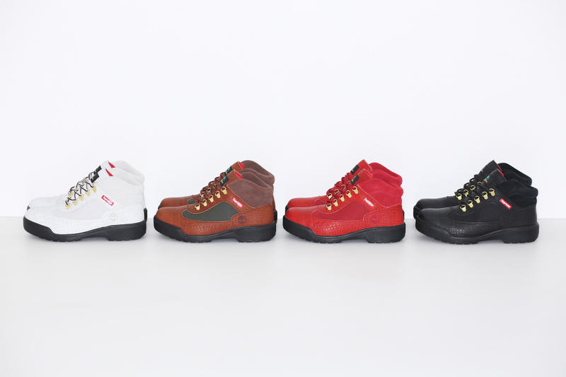 Supreme x Timberland 2016 Fall/Winter Lug Field Boot
