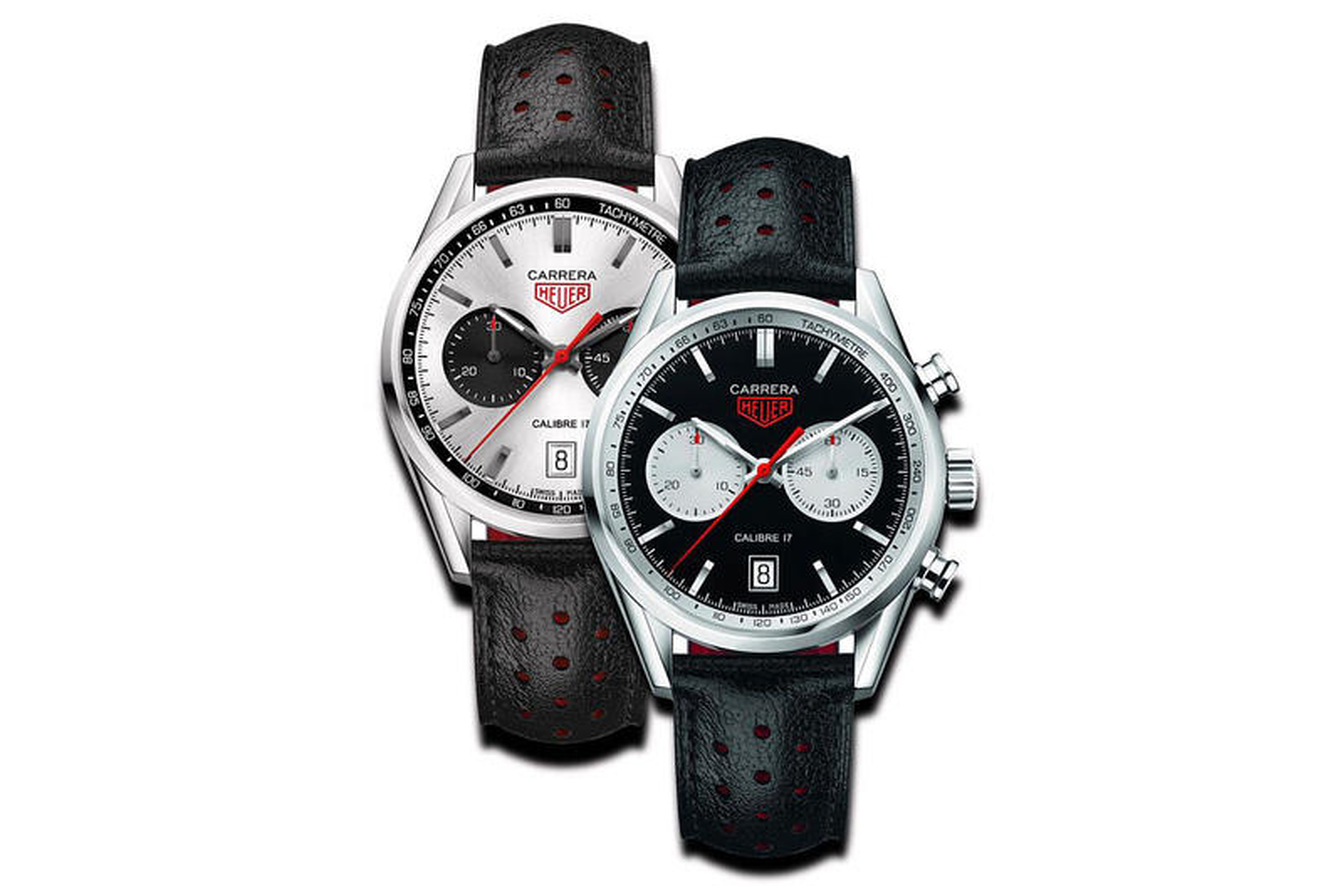 TAG Heuer Releases the Carrera Calibre 17 Panda in Silver & Black