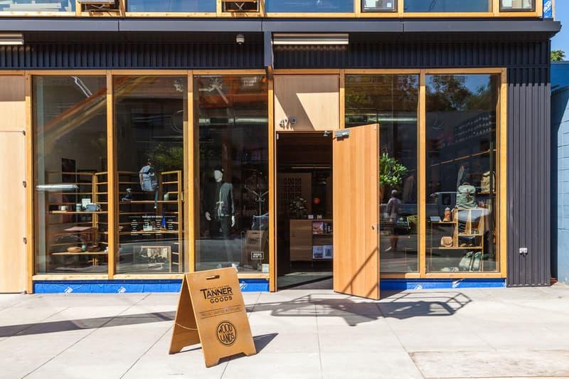 Tanner Goods Portland Flagship Location Leather Los Angeles San Francisco Mazama Wares Ceramics The Wayback Cafe Beer