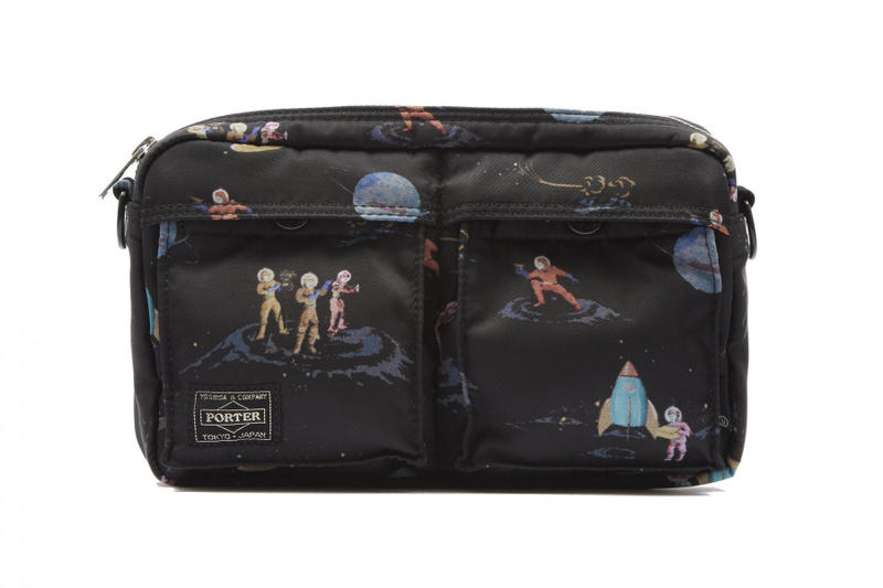 Undercover Porter Cross Body Bag Space Grey Black