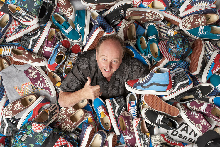 2ab6f49815 Vans Celebrates 50 Years With a Slew of Apparel   Footwear Curated by Steve  Van Doren