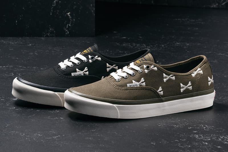 a1cc95350b Vans Vault x WTAPS Sneakers and Military Parka