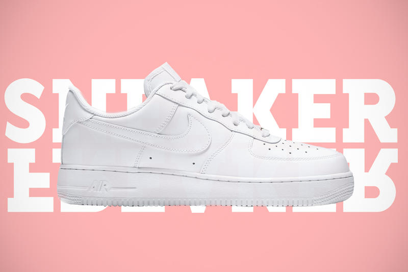 Sneaker Freaker Air Force 1 Teaser Instagram