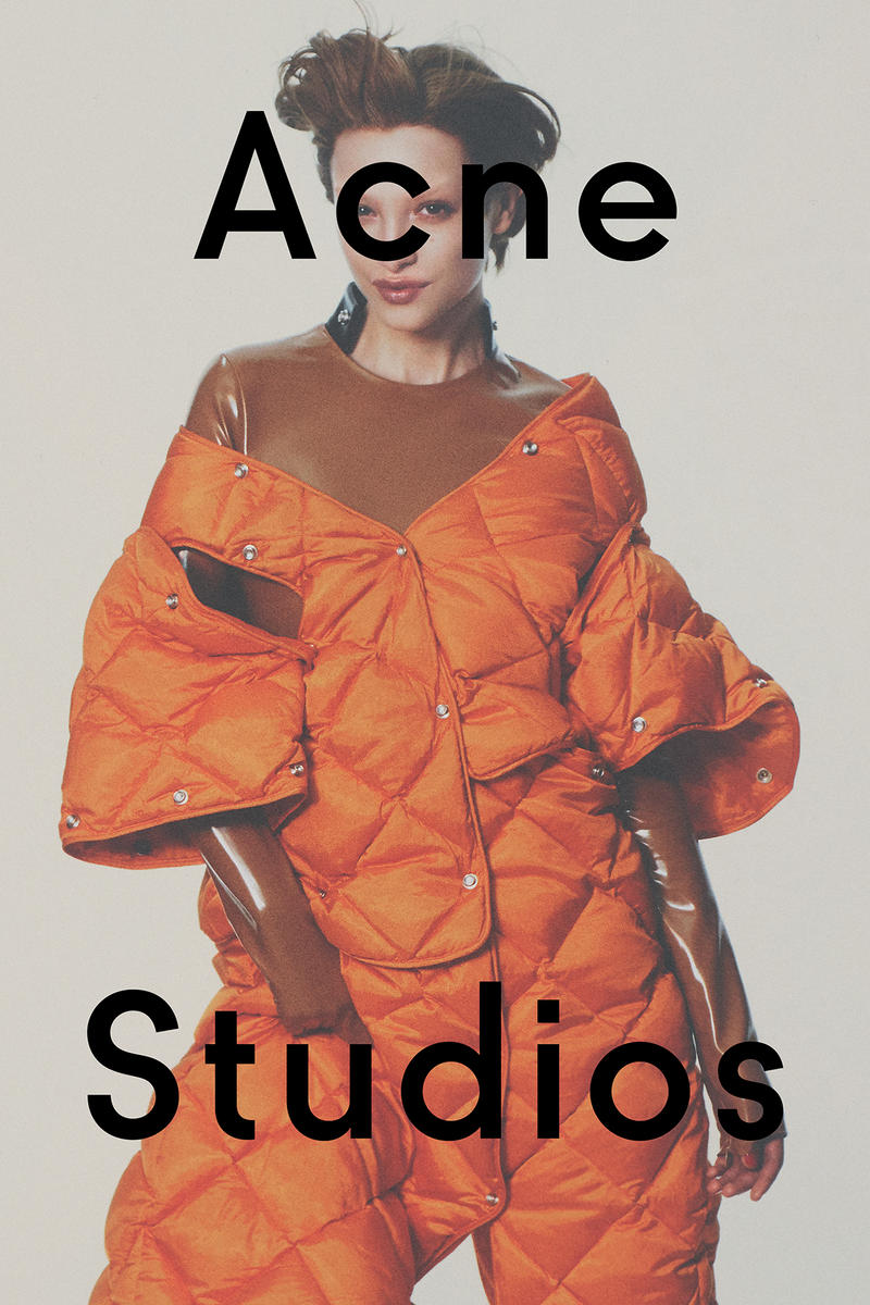 David Sims Acne Studios 2016 Fall Winter Campaign New York Fashion Week NYFW