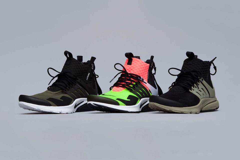 A More Intricate Look at the ACRONYM x NikeLab Air Presto Mid Collection