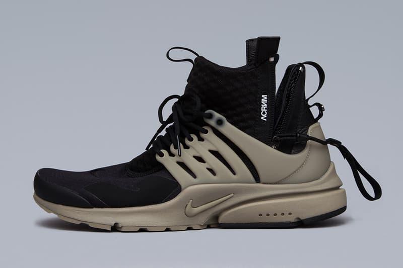 ACRONYM x NikeLab Air Presto Mid Collection Closer Look