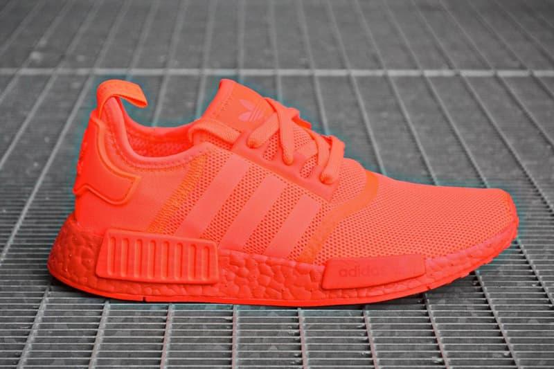 Adidas Nmd R1 Solar Red Hypebeast
