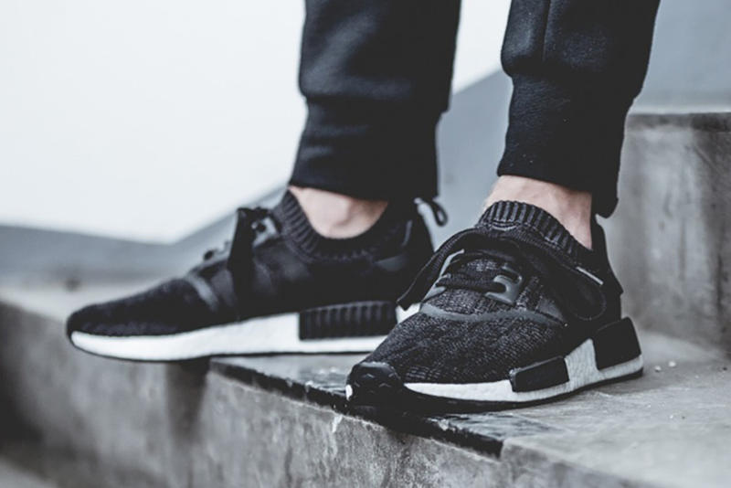 """adidas NMD """"Winter Wool"""" Collection Primknit core black triple stripe nmd r1 nmd city sock"""