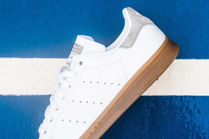 adidas Originals Stan Smith Gum Sole light grey suede