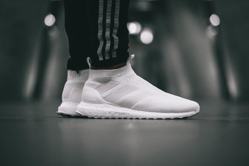 d182e2c37 adidas PureControl Ultra Boost Triple White City Sock