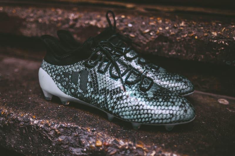 adidas Soccer Viper Pack  X16+ PURECHAOS snakeskin blue boot