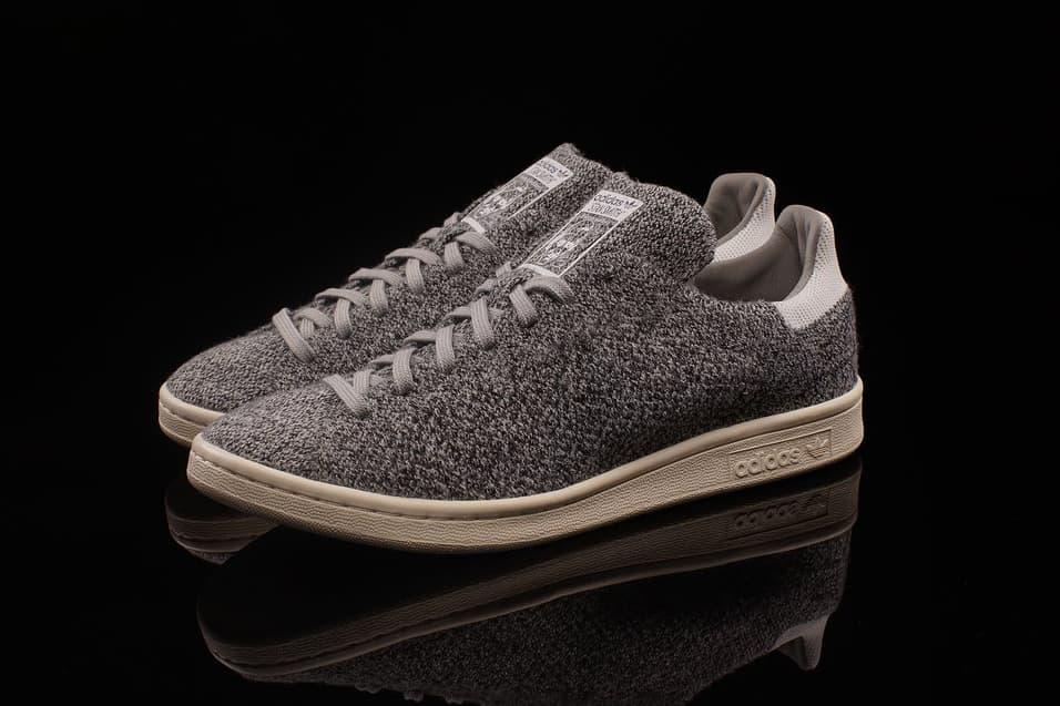 adidas Transforms the Stan Smith in Primeknit Grey
