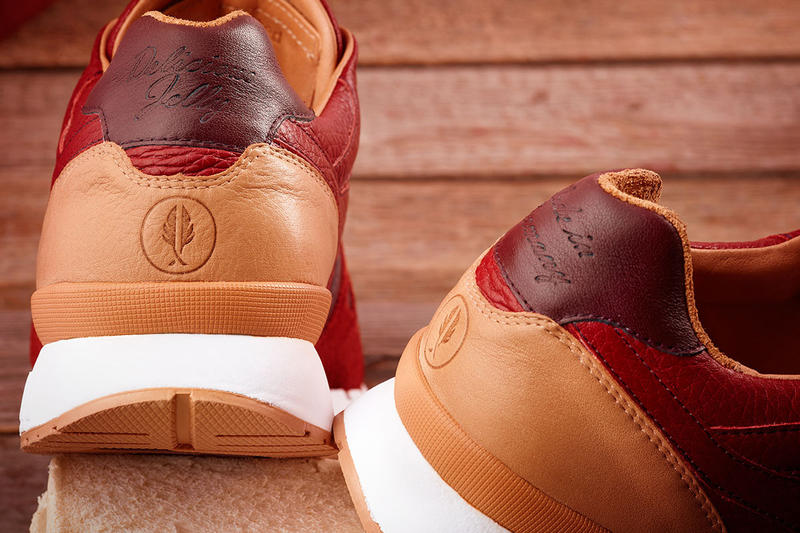 Afew Store KangaROOS Omnicoil II Jelly Sneaker red brown