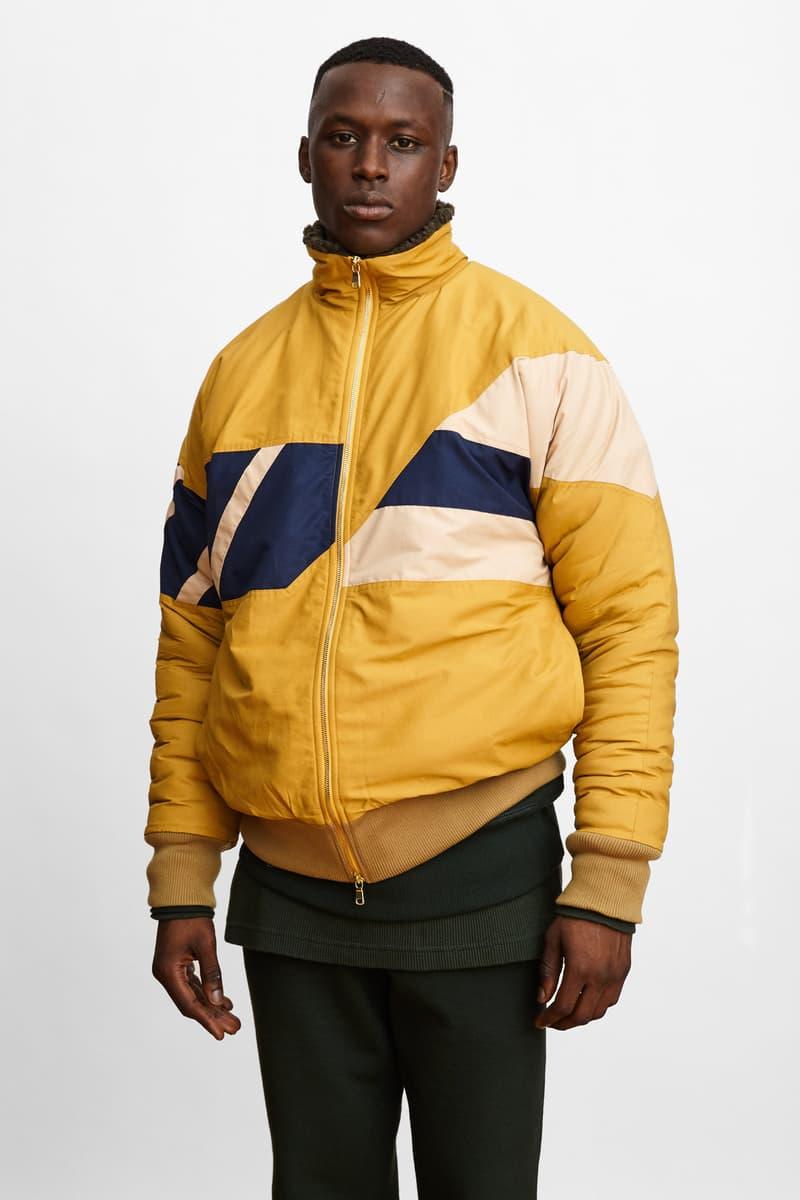 Aimé Leon Dore 2016 FW Lookbook sherpa navy red yellow