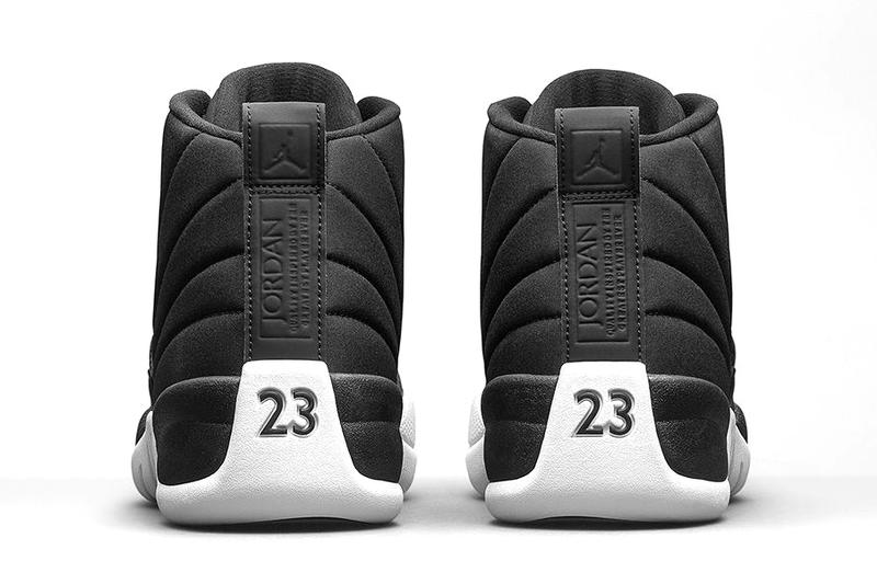 Air Jordan 12 Retro Black Nylon