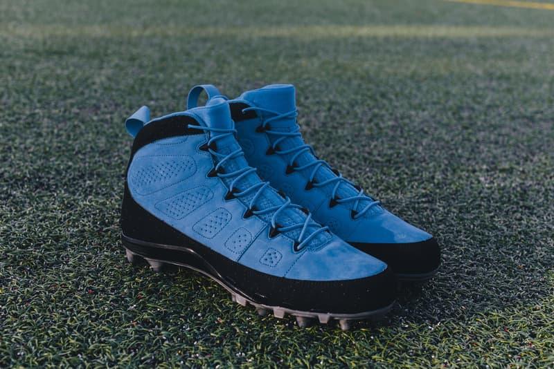 Custom Air Jordan IX Cleats
