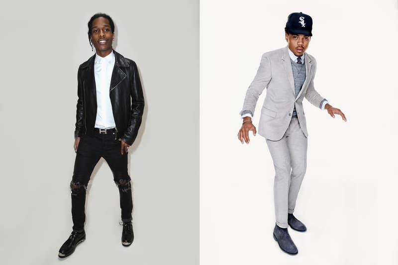 A$AP Rocky Chance The Rapper headline Black Ball