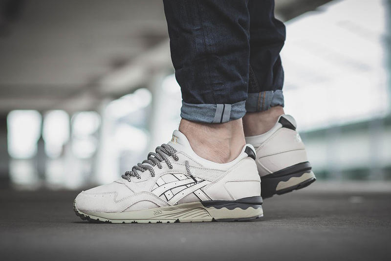 1a58baba2d025 ASICS Drops a Clean Off-White Colorway of the GEL-Lyte V